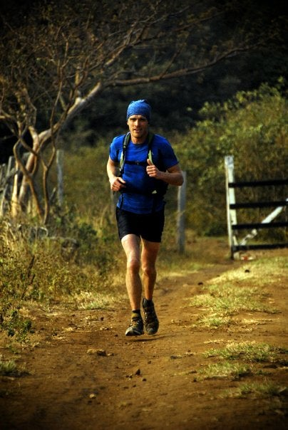 Ty Stevens less than a minute behind Javier Montero 4 kilometers from checkpoint two on day four of The Coastal Challenge. Stevens placed second overall. Photo Credit: J. Andrés Vargas - Lead Adventure Media