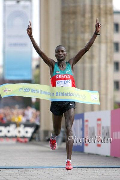 Kenyan Abel Kirui has the wheels, and the know how, to win big in the Big Apple. Photo; PhotoRun.net