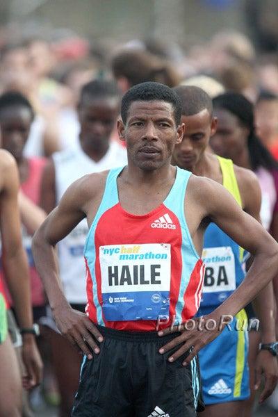 Haile Gebrselassie is now out of the Tokyo Marathon. Photo: PhotoRun.net