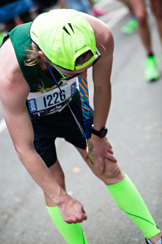 post marathon fatigue