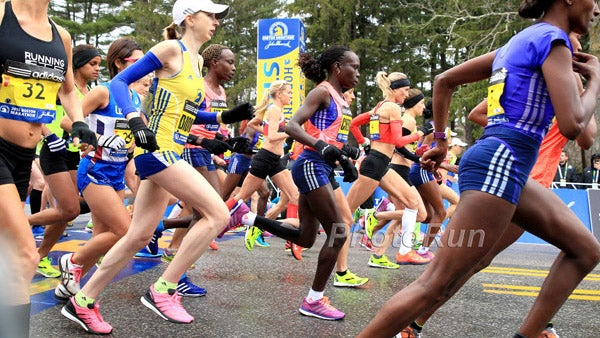 The Shoes of the 2015 Boston Marathon