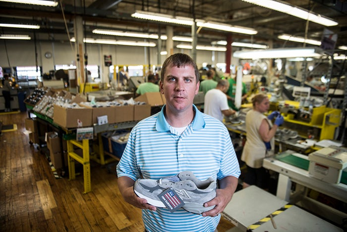 How New Balance Makes Running Shoes in