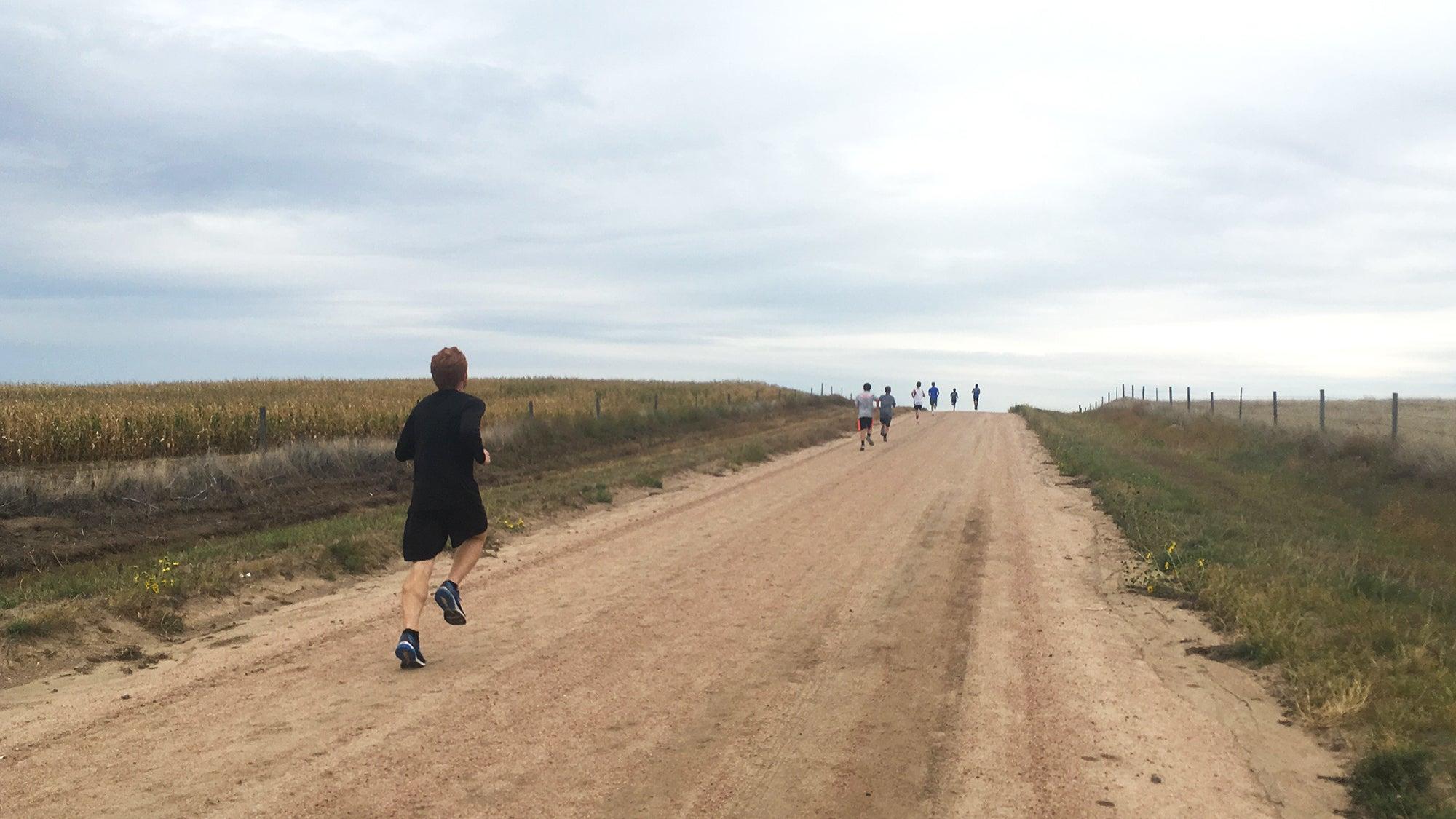 long hill effort workout