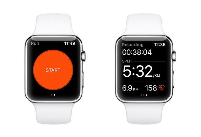Apple Watch 2 Strava App