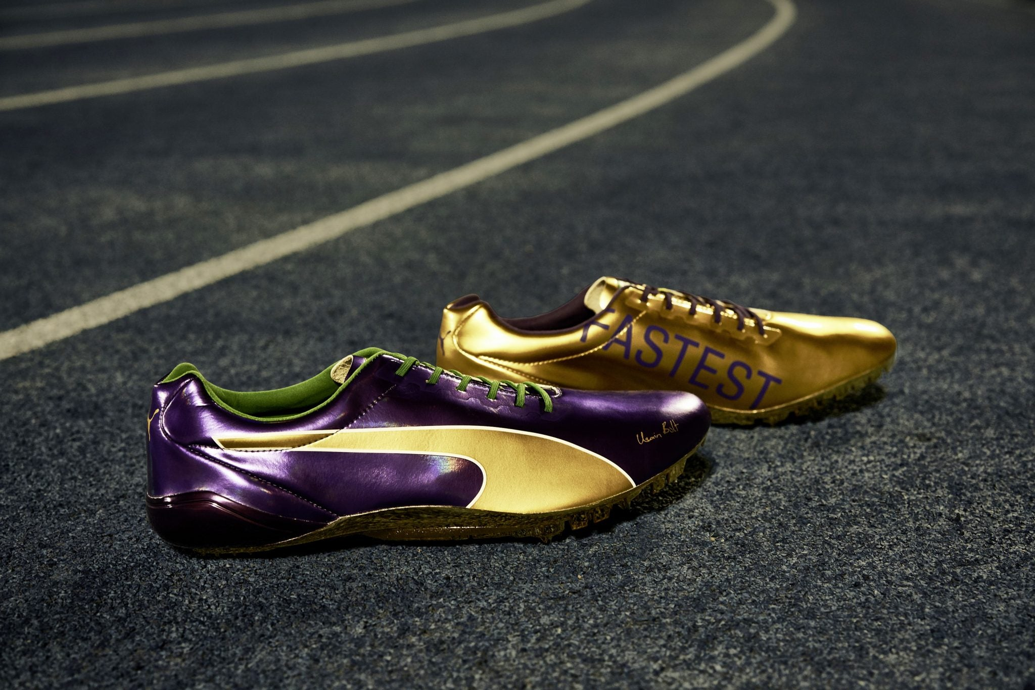 Puma Created Brand New Spikes For Usain Bolt's Last Race Ever