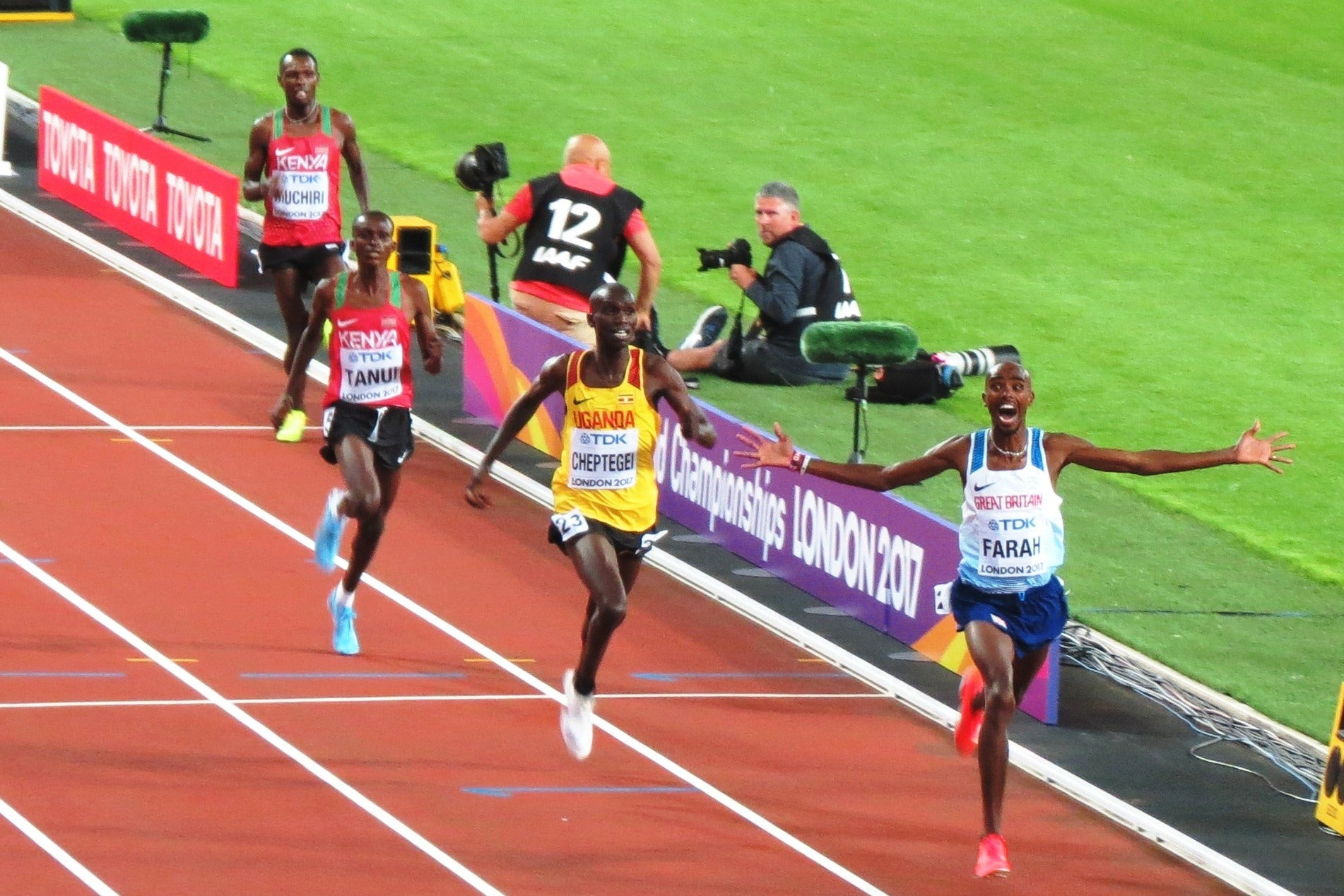 Weekend Highlights From IAAF World Championships