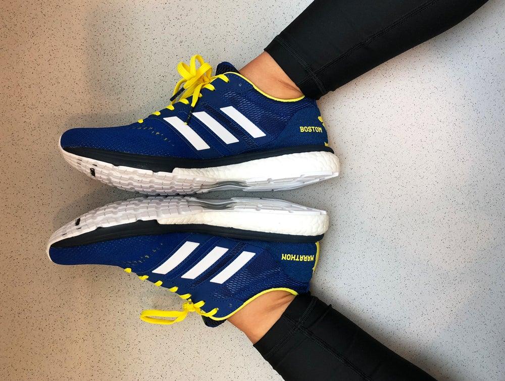 boston marathon adidas sneakers