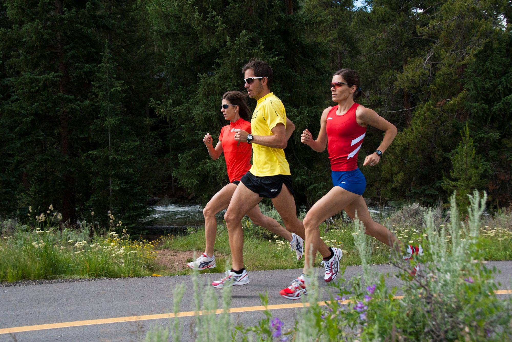 group training for half marathon