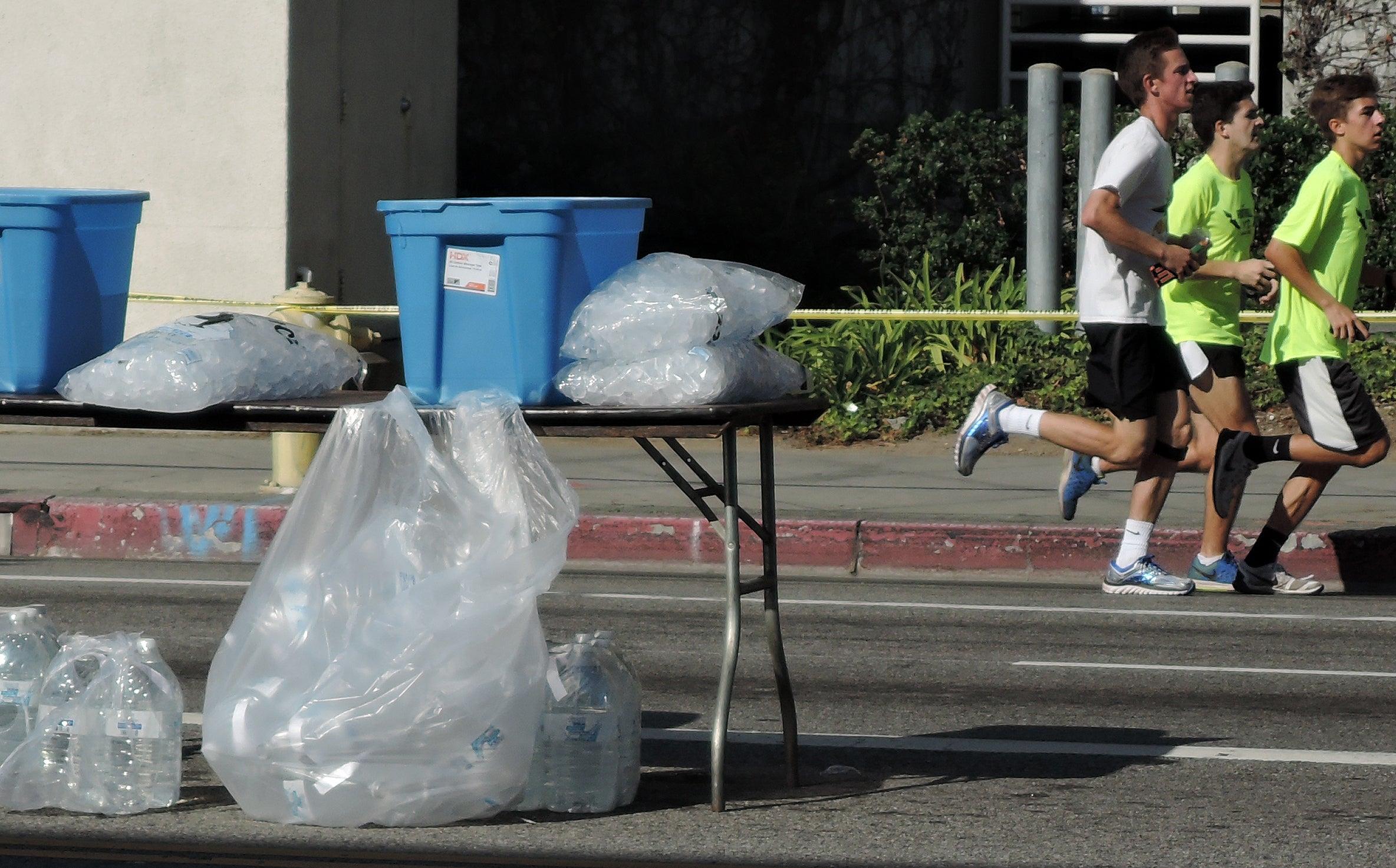 ice stockpiled before LA2016