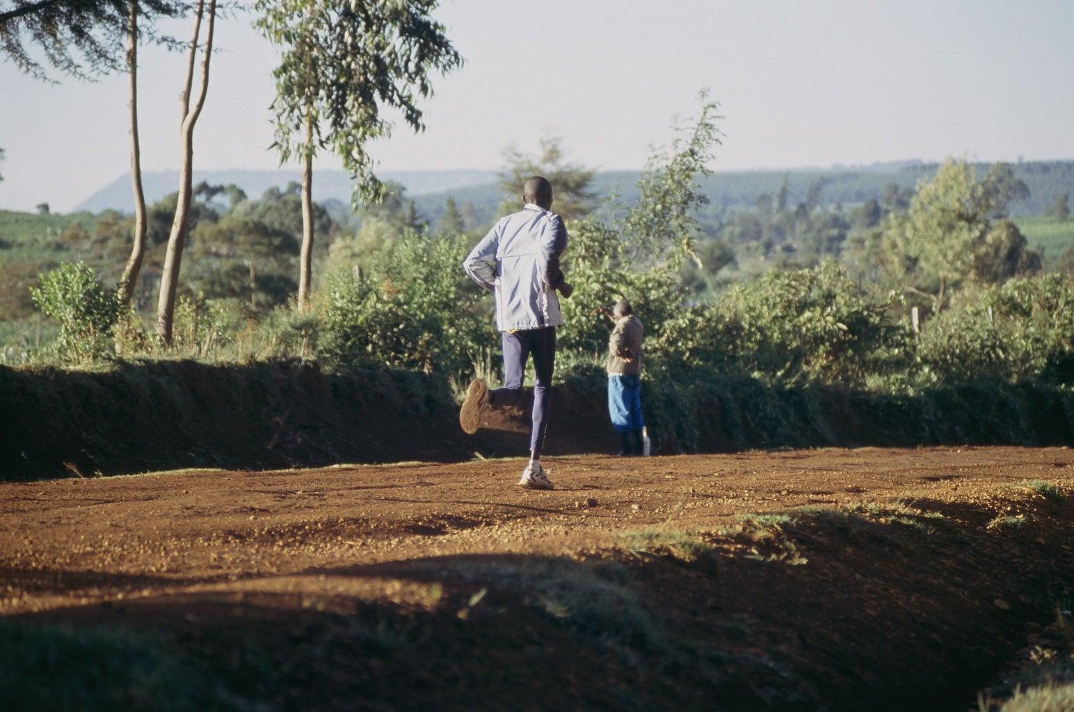 Rift Valley morning run