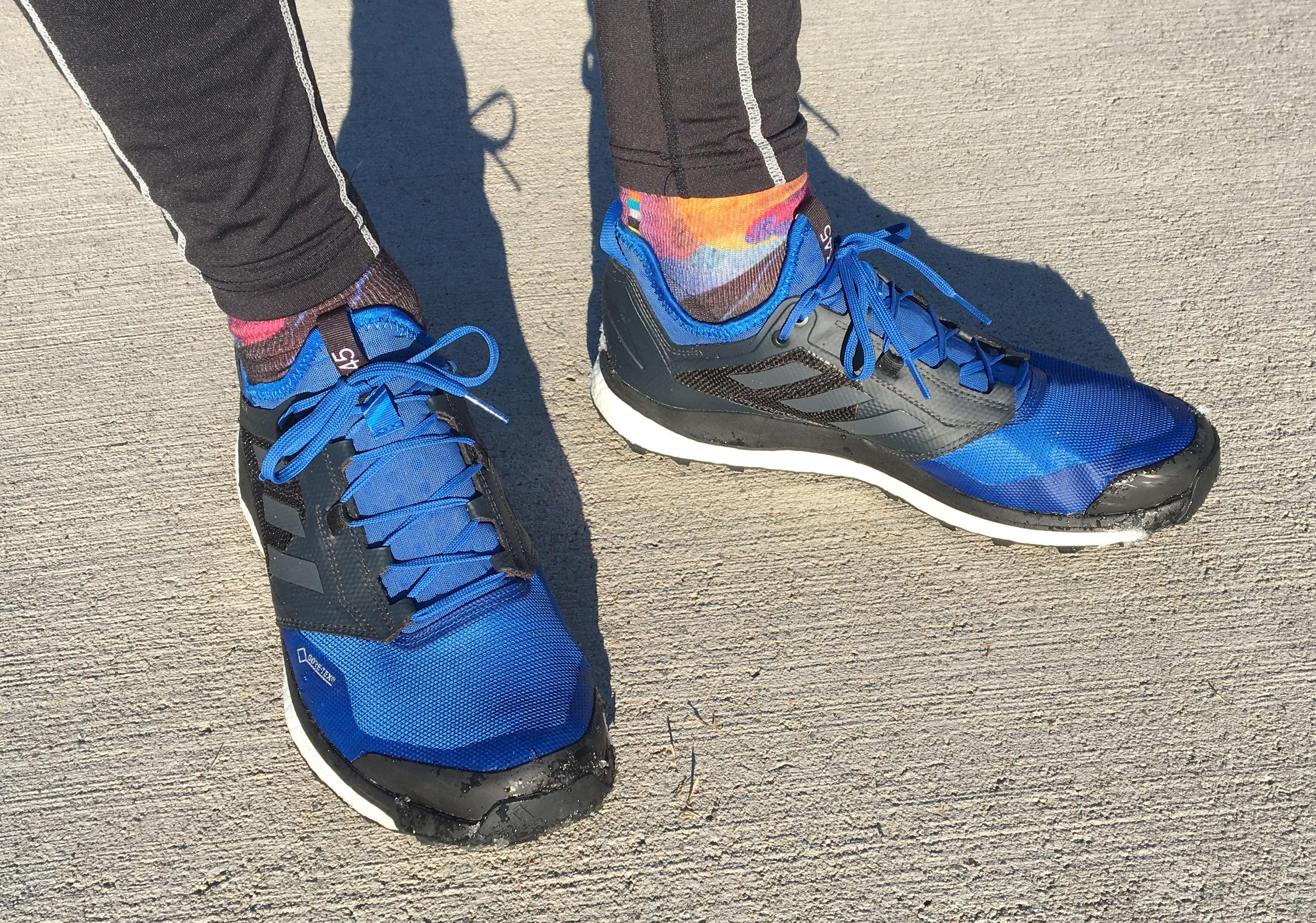 Azul balcón campo  Trail Shoe Review: Adidas Terrex Agravic XT GTX – PodiumRunner