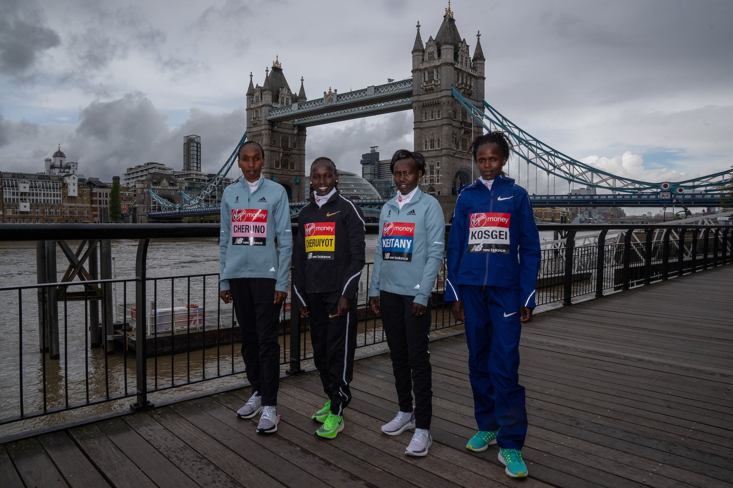 London Marathon 2019 Elite Women