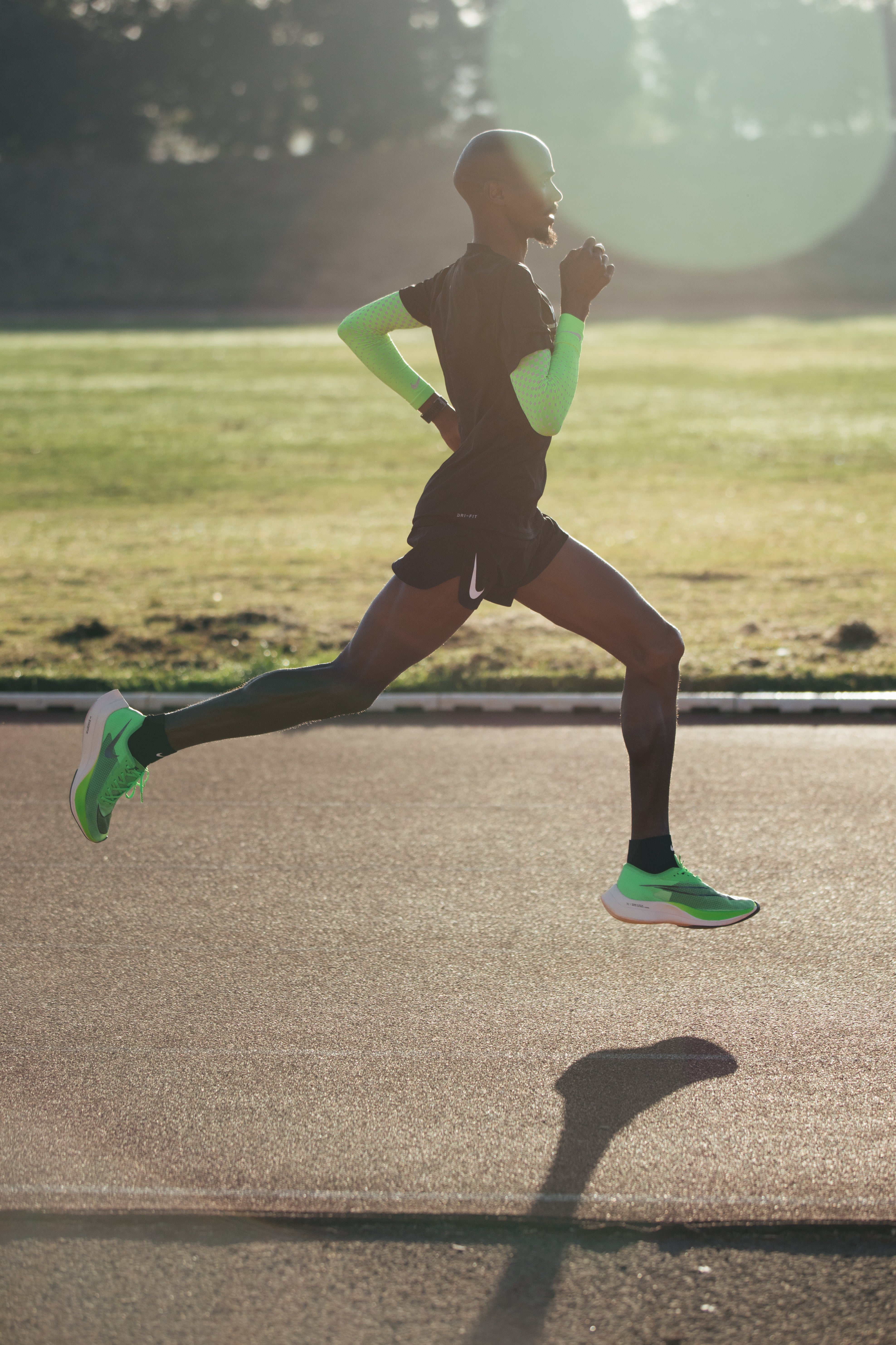 Mo Farah in Nike ZoomX Vaporfly NEXT%