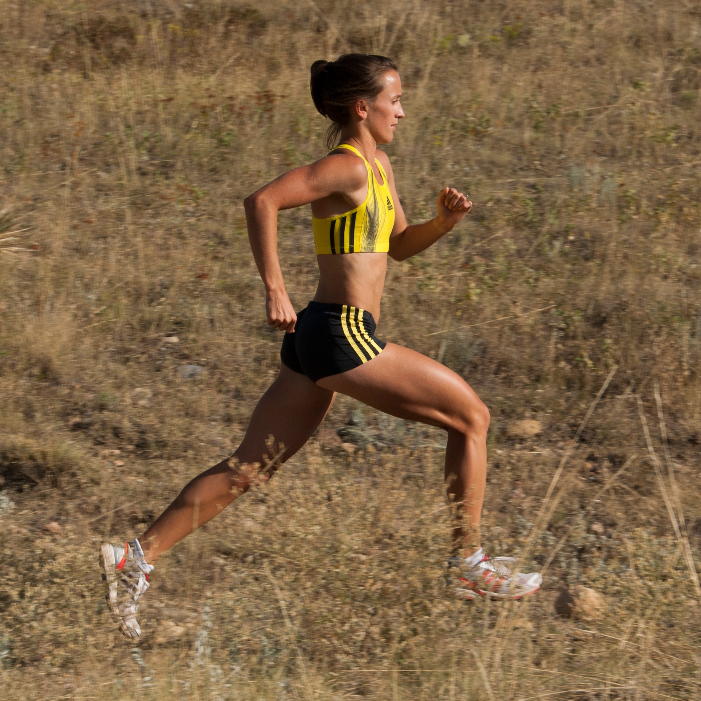 Sara Vaughn trail training