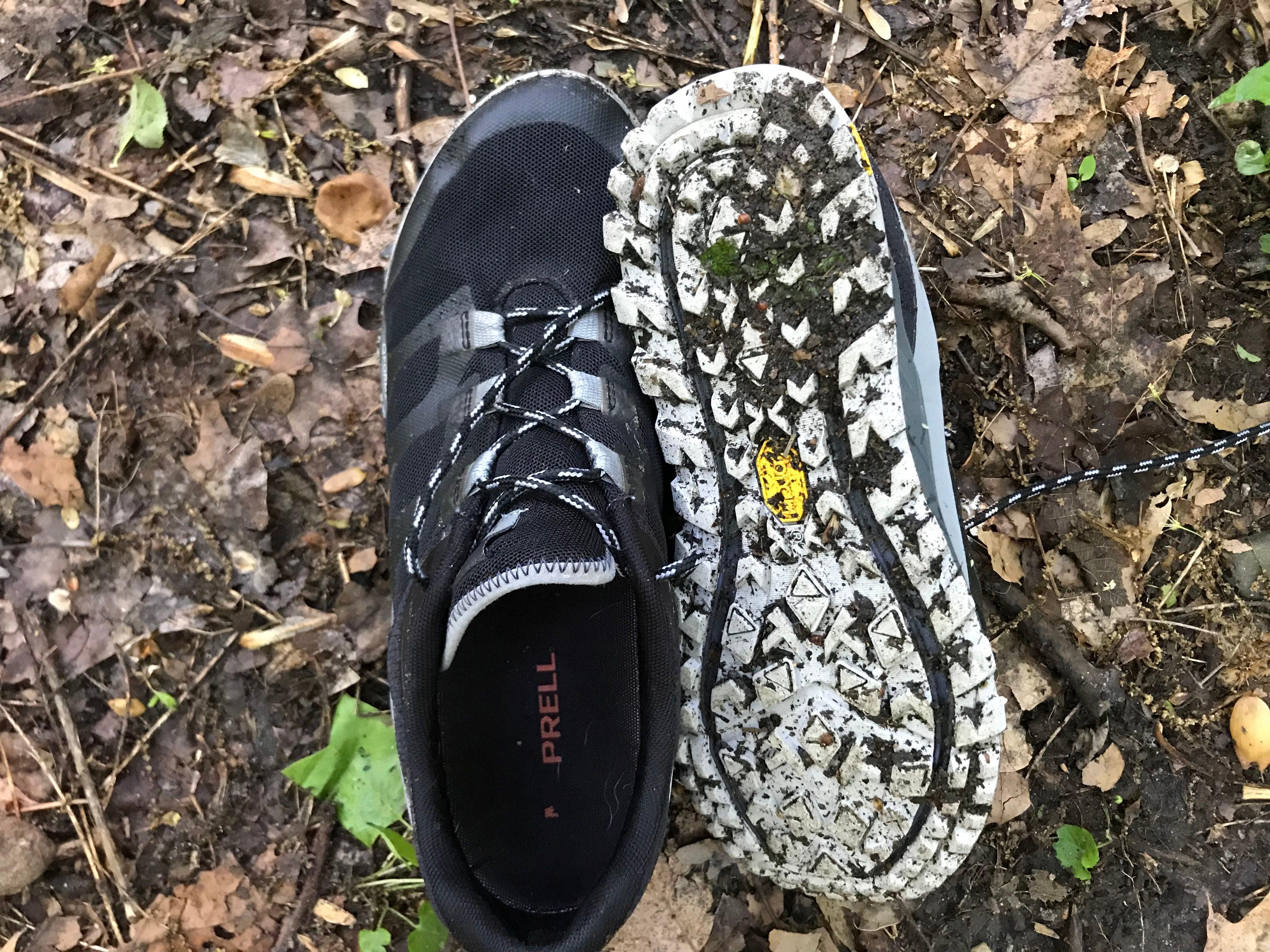 Merrell Antora trail shoe tread