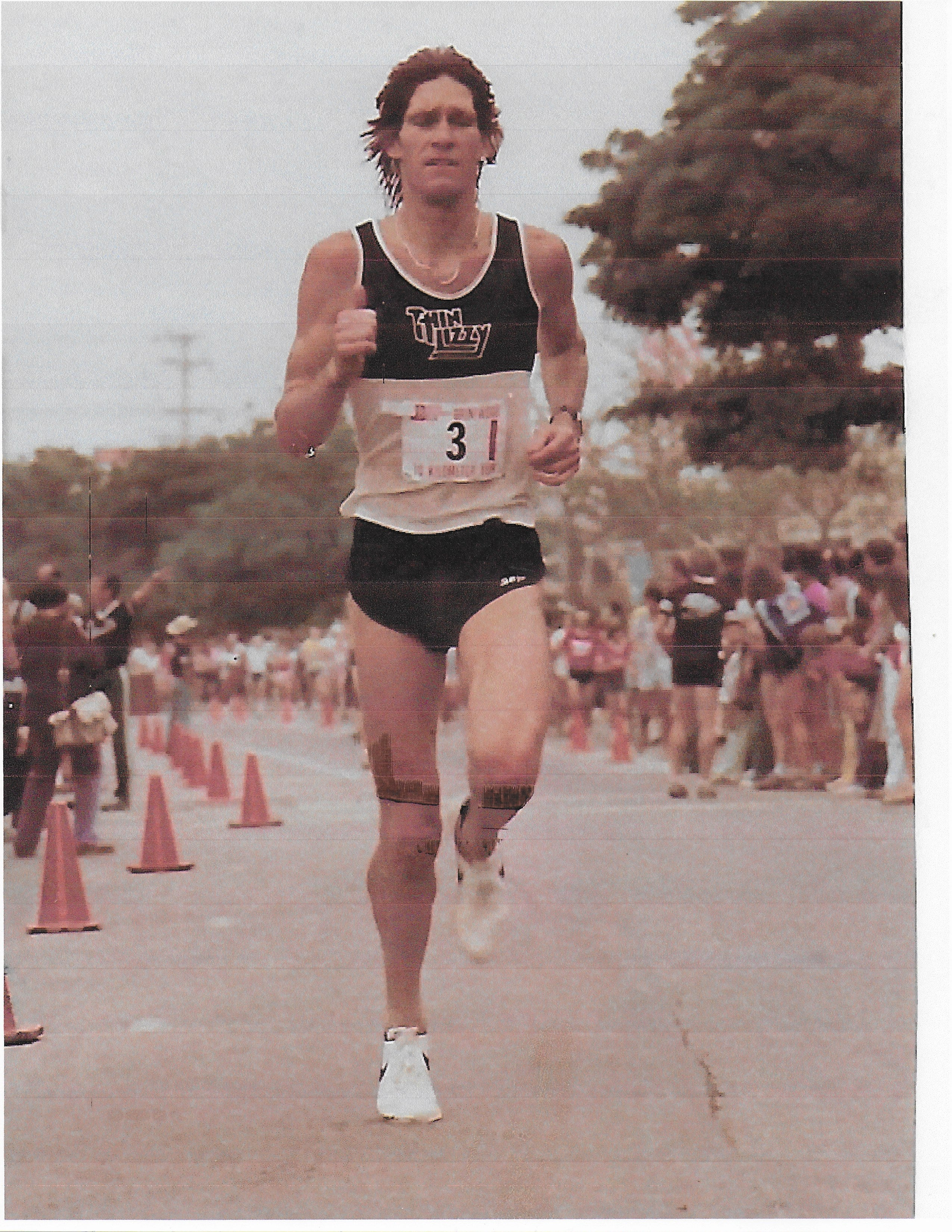 Jon Sutherland as a young runner