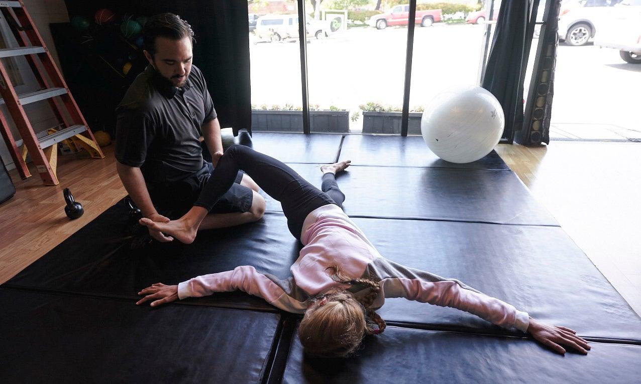 Jordan Hasay physical therapy