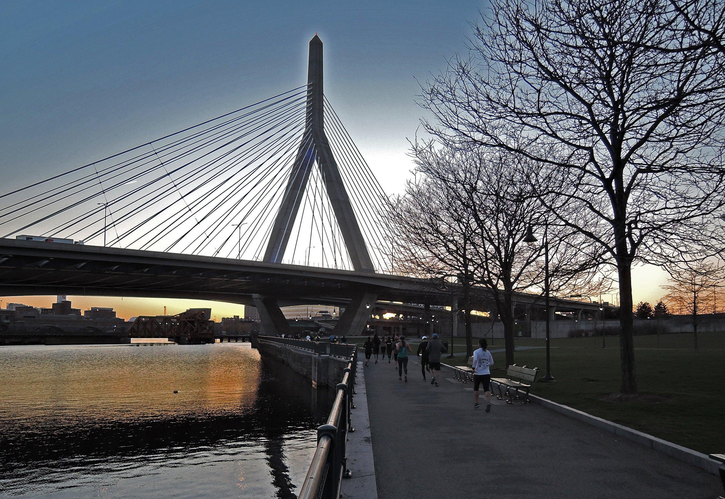 Running Charles River Boston