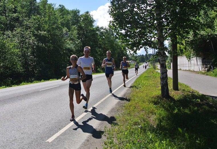 Becky Wade racing in Finland