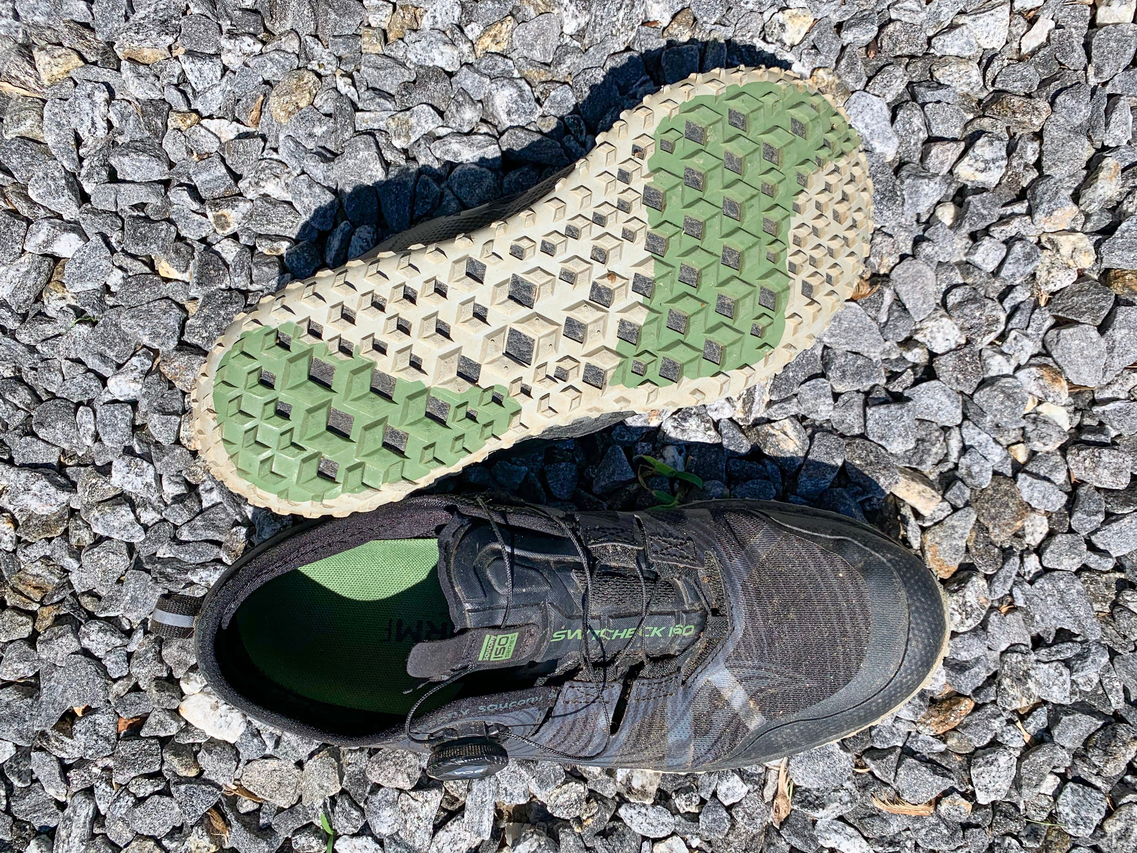 Saucony Switchback ISO trail shoe PWRTRAC outsole