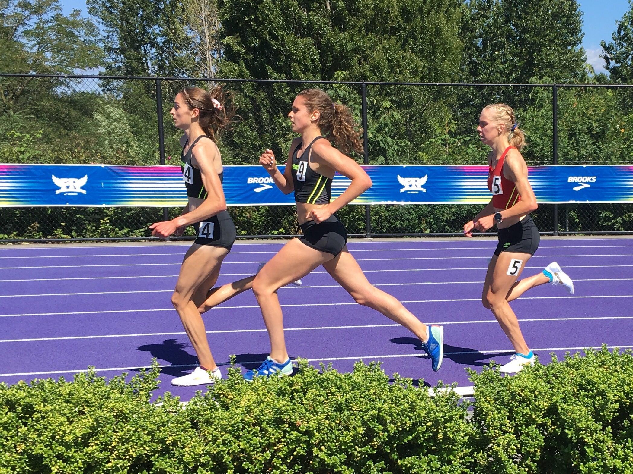 Girls 2-Mile Brooks PR