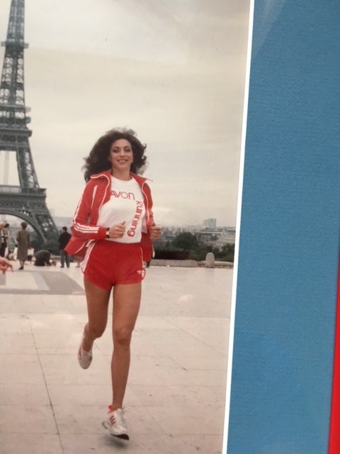 Kathrine Switzer Paris 1984