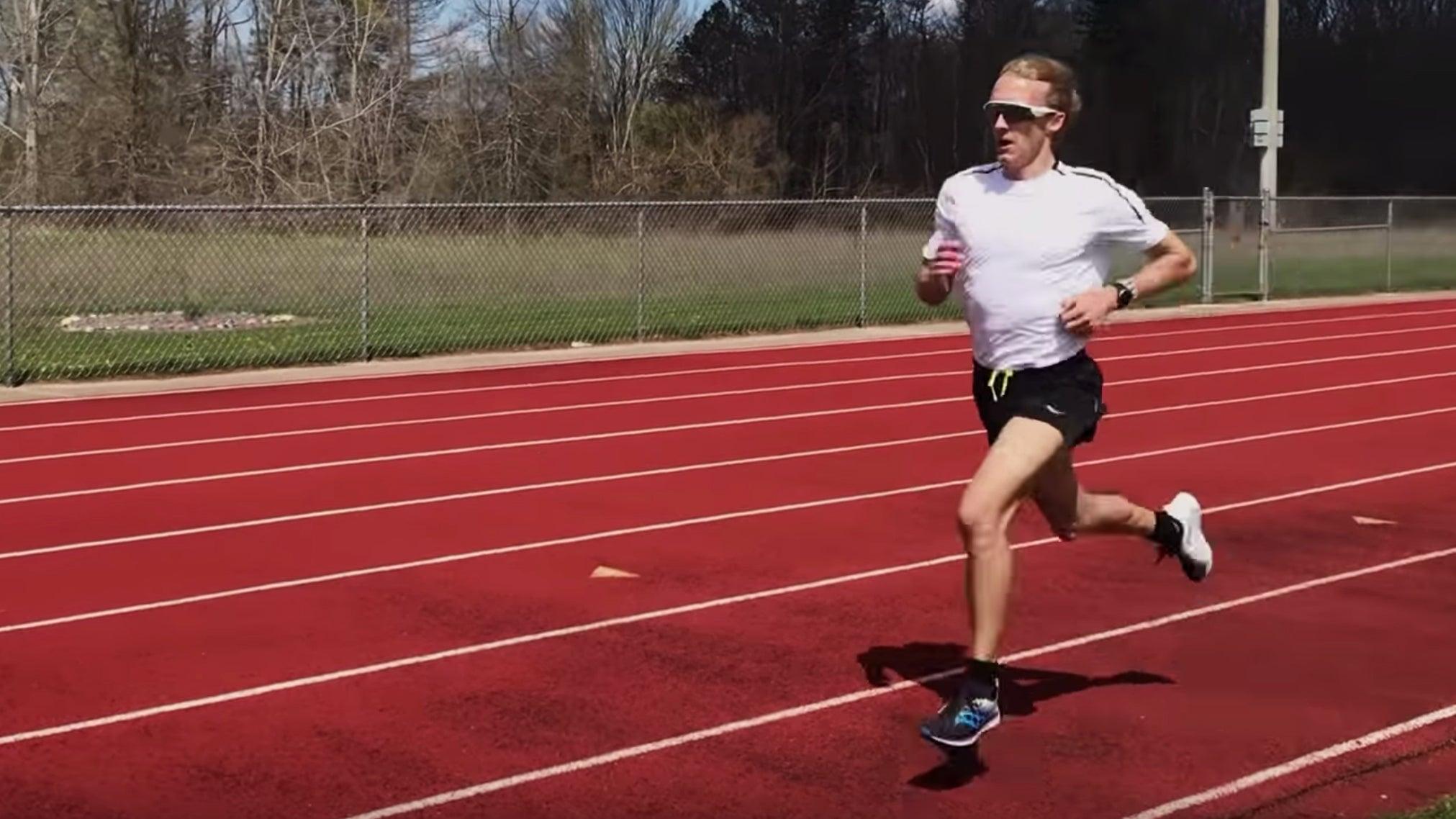 Parker Stinson track workout