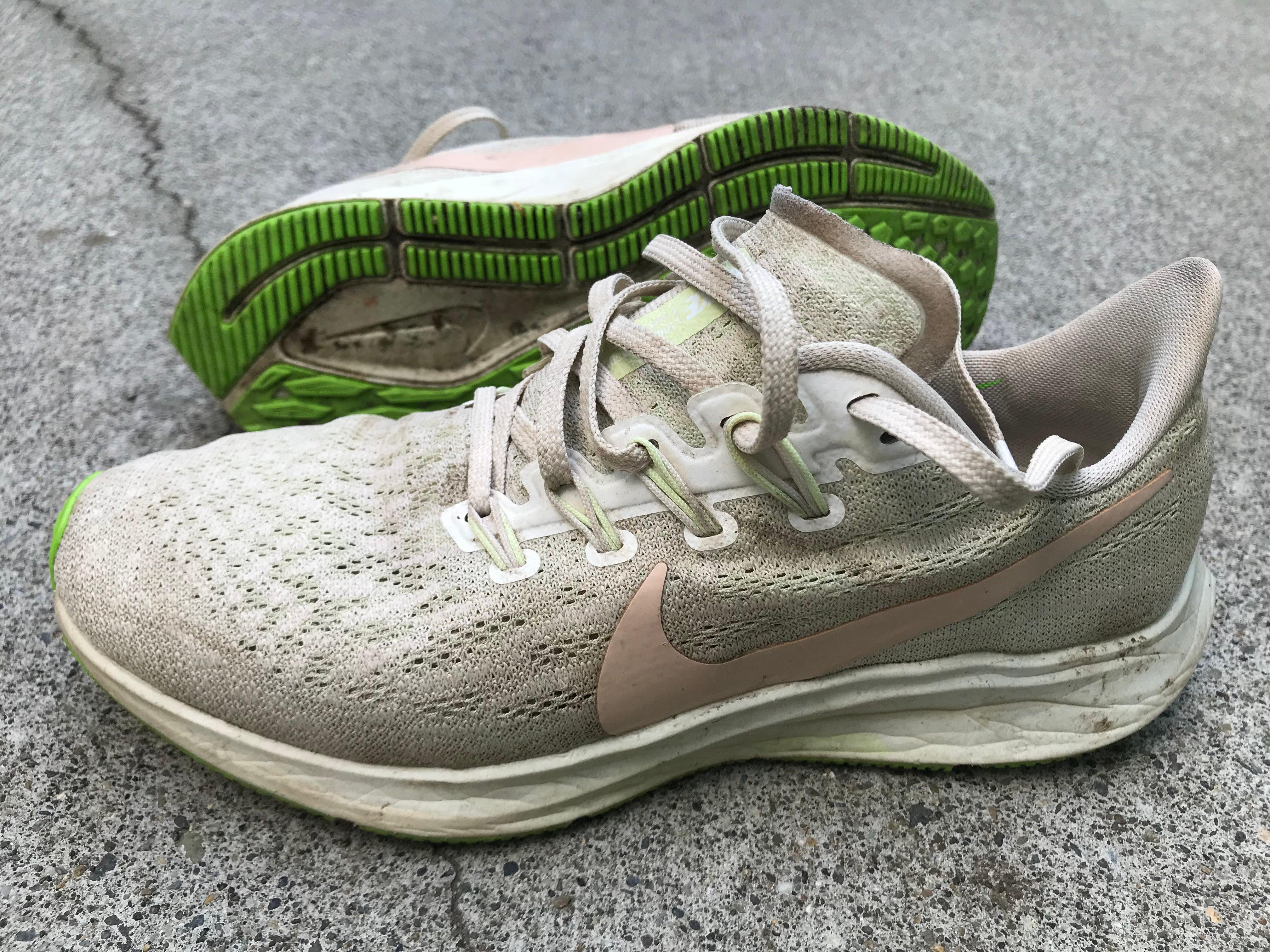 Nike Air Zoom Pegasus 36 worn