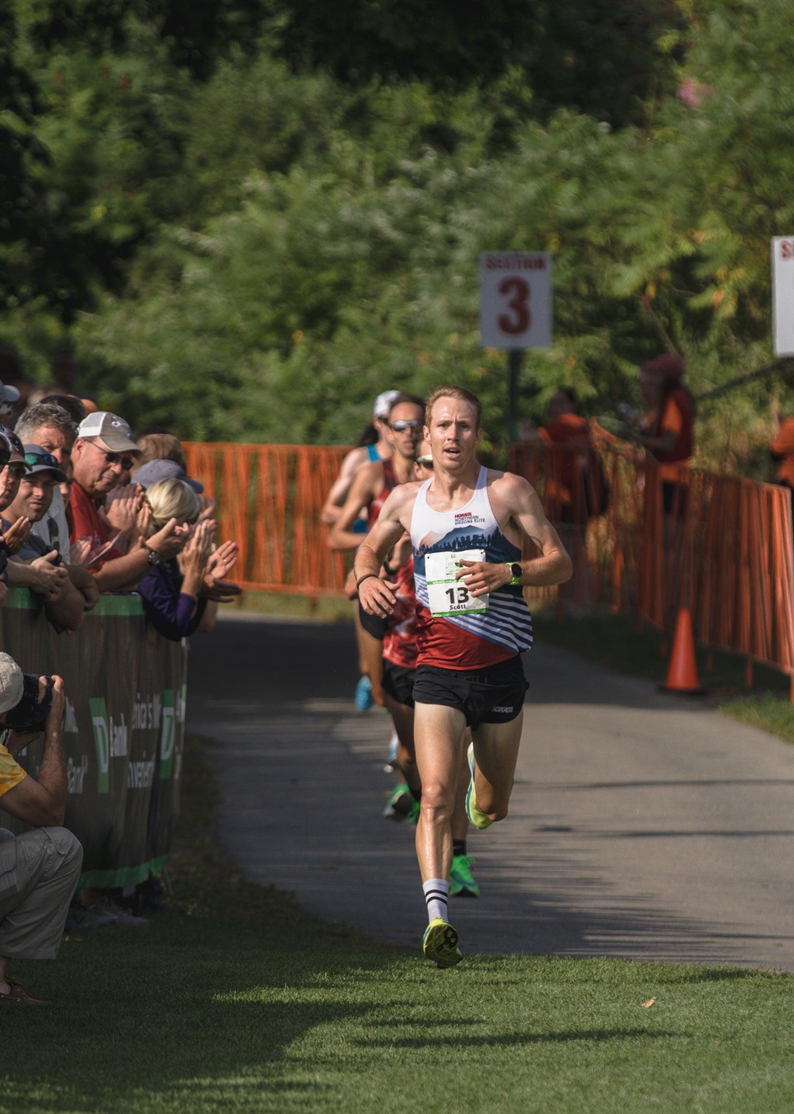 Scott Fauble near finish B2B 2019