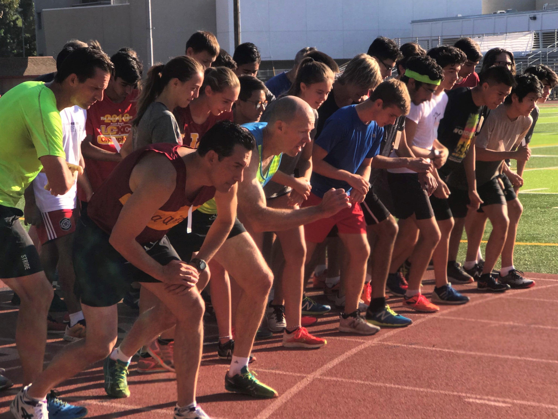 Alumni XC Race Start