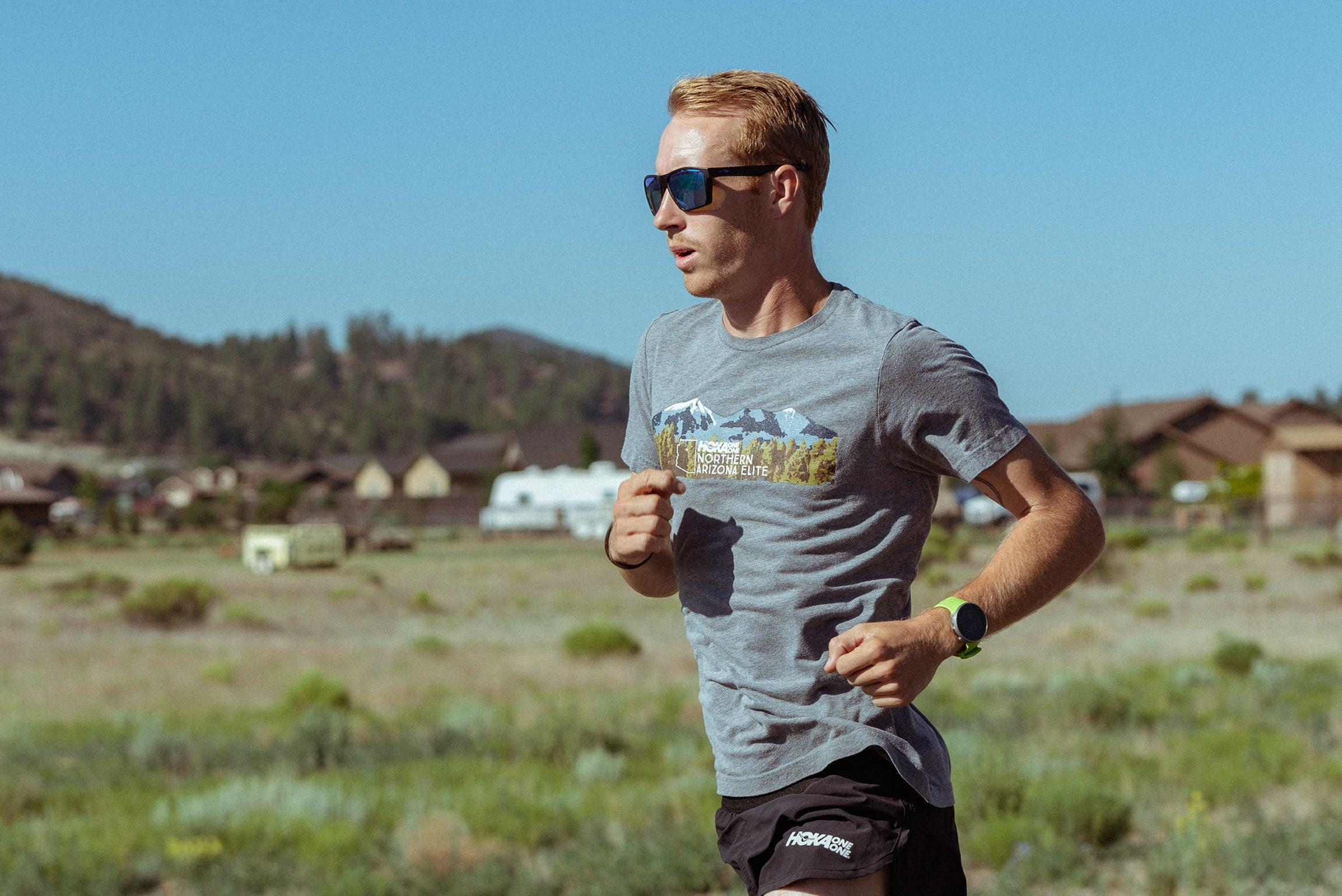 Scott Fauble training