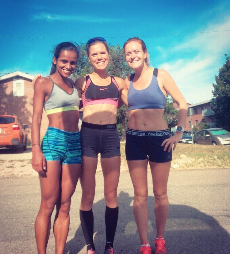 Hiruni Wijayarante, Lindsay Flanagan and Rosie Edwards