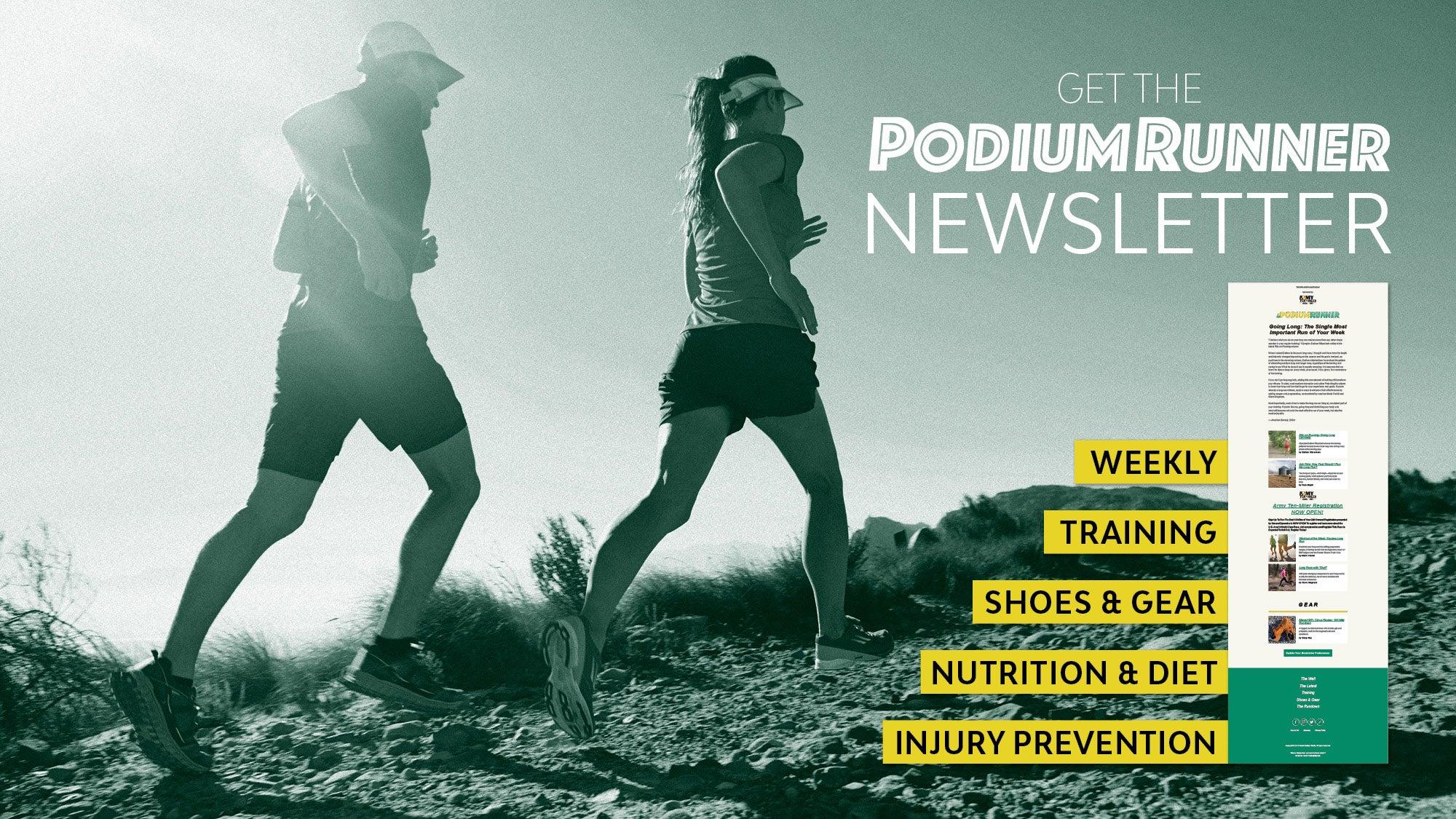 PodiumRunner Email Newsletter