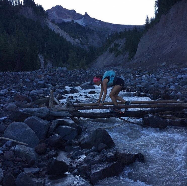 river crossing PCT FKT