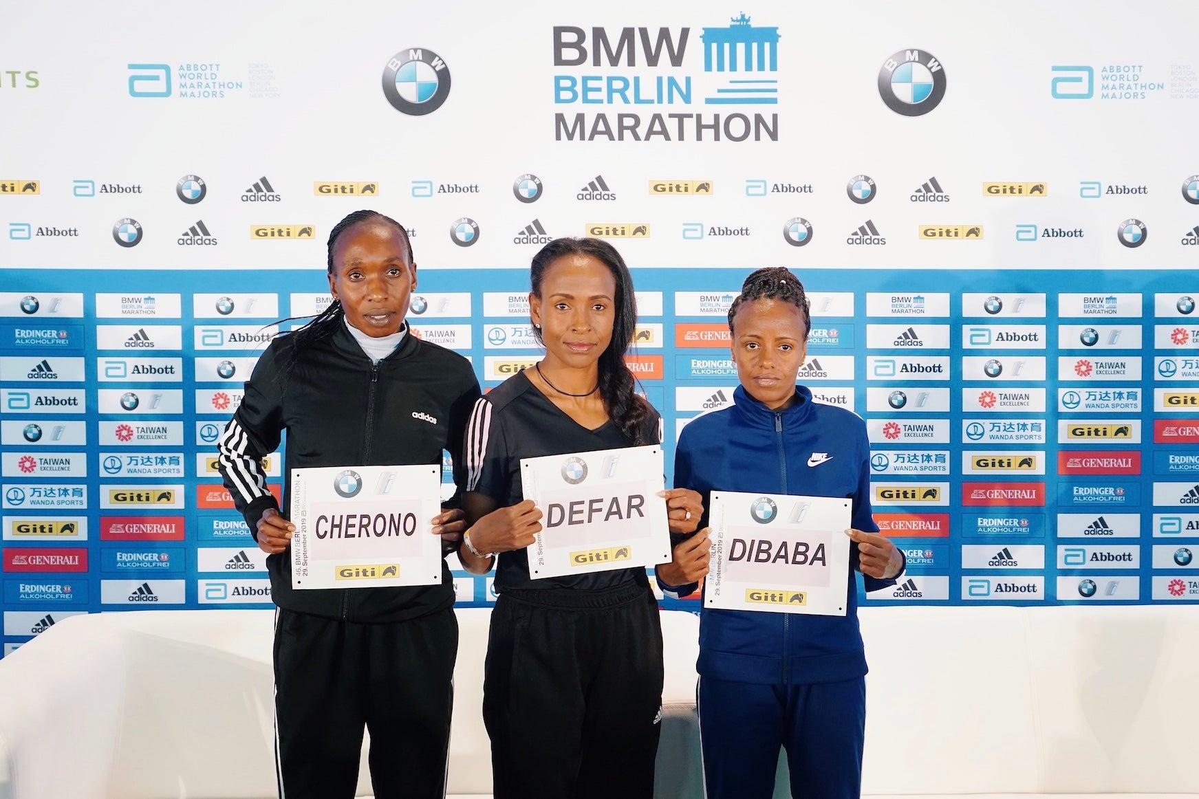2019 BMW Berlin Marathon Press Conference
