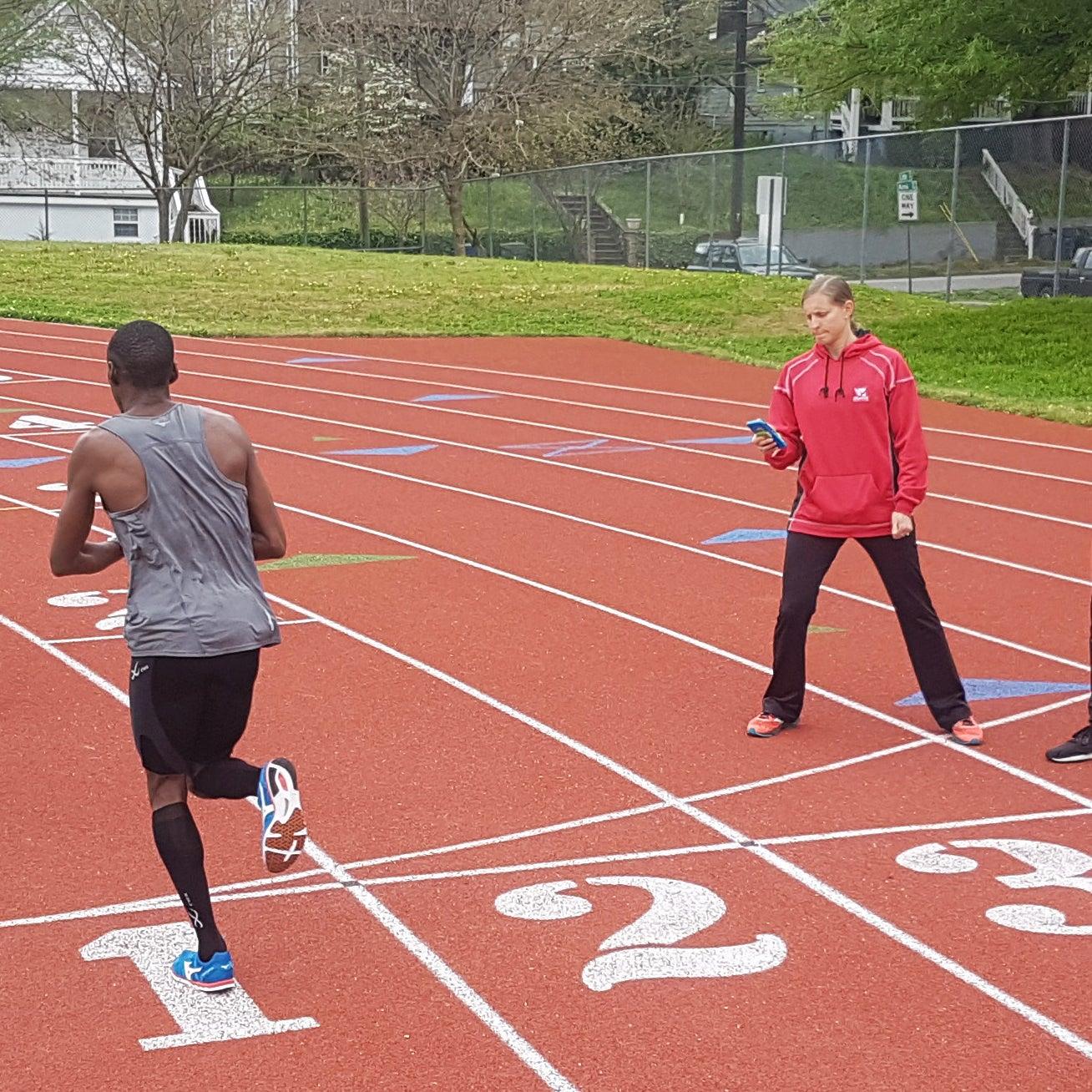 Amy Begley coaching