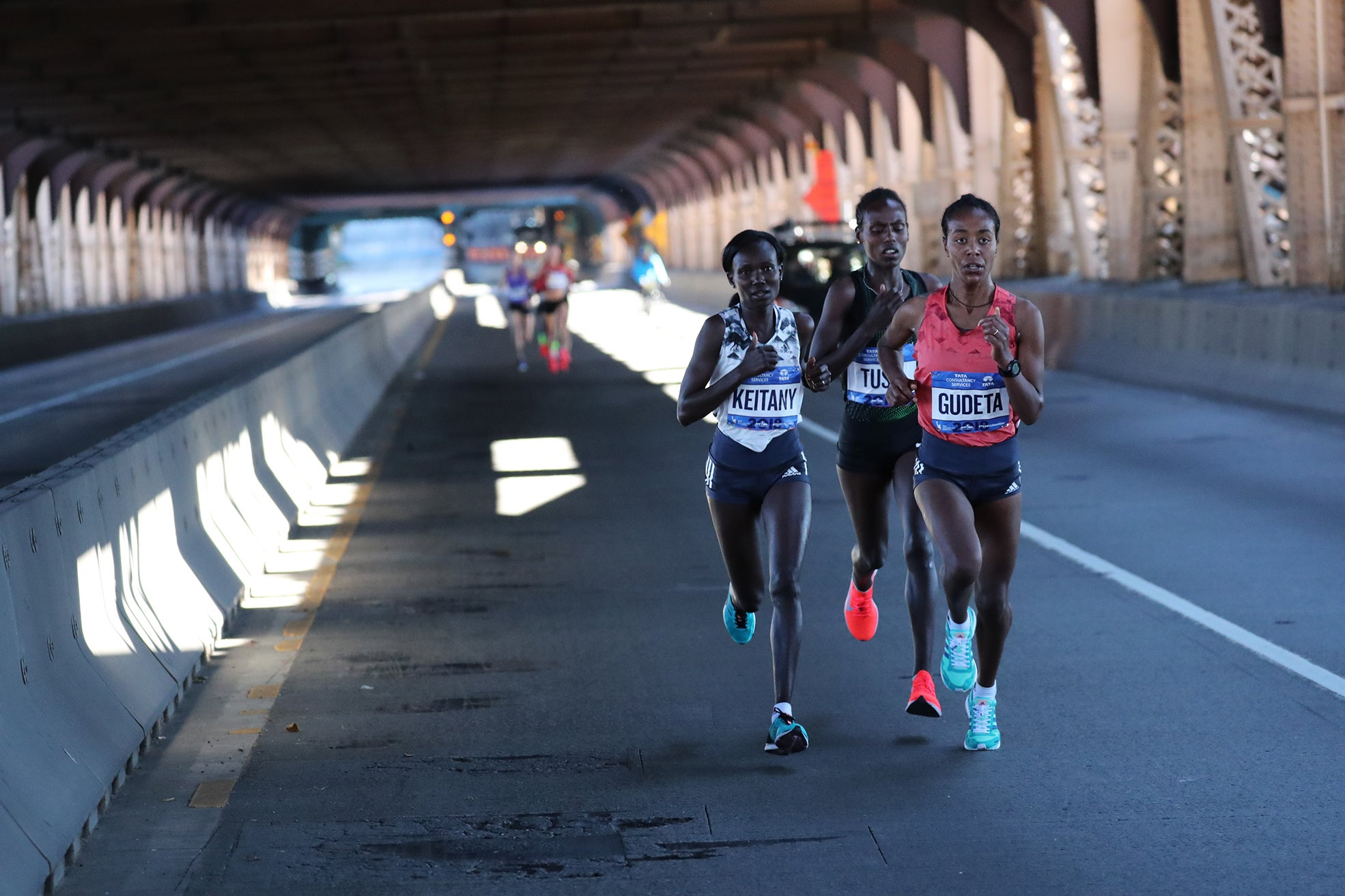 NYCM Queensboro Bridge elite women