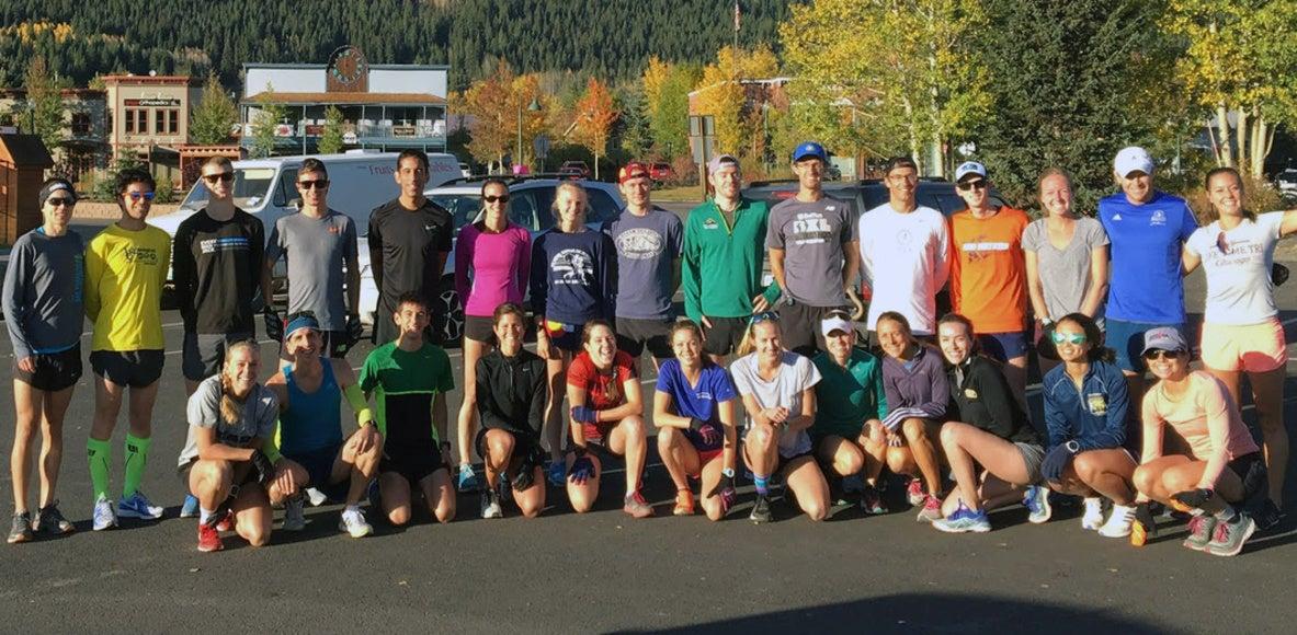 Boulder Track Club Preparing for Olympic Qualifying Time Training