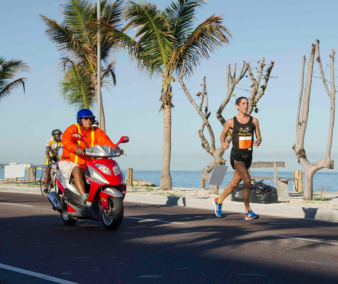 Clint Wells Bahamas Marathon Training for his Olympic Trials qualifying time