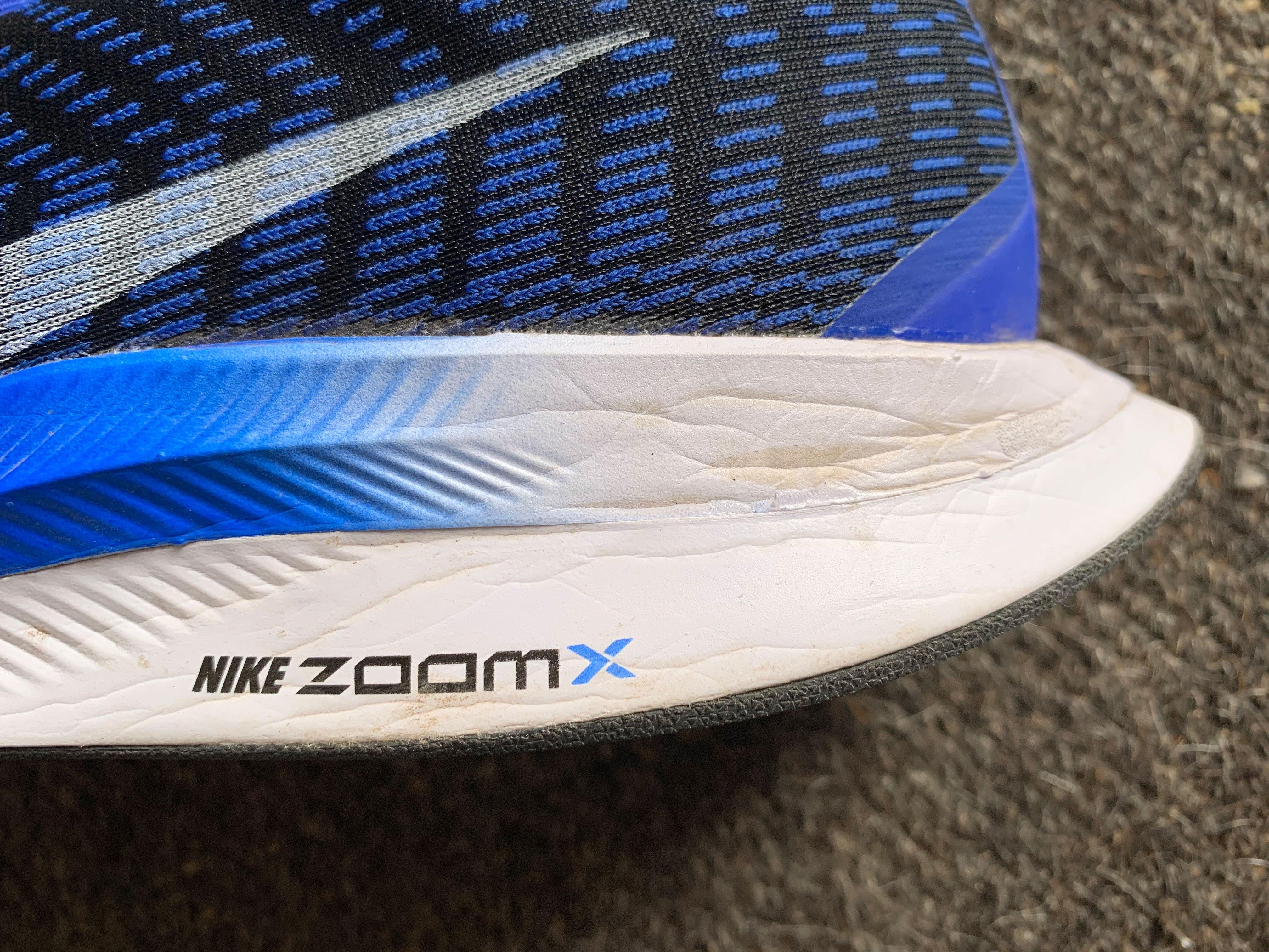 Nike ZoomX midsole