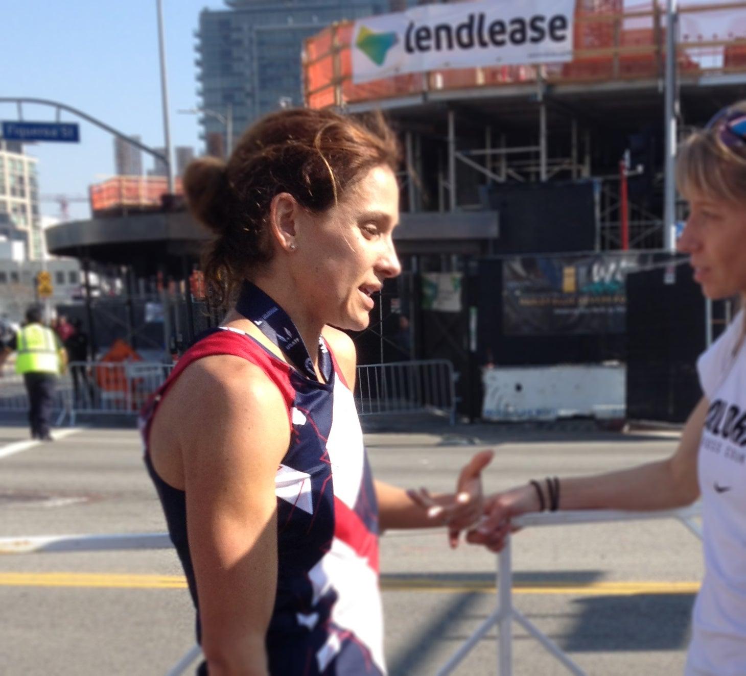 Kara Goucher post LA Trials