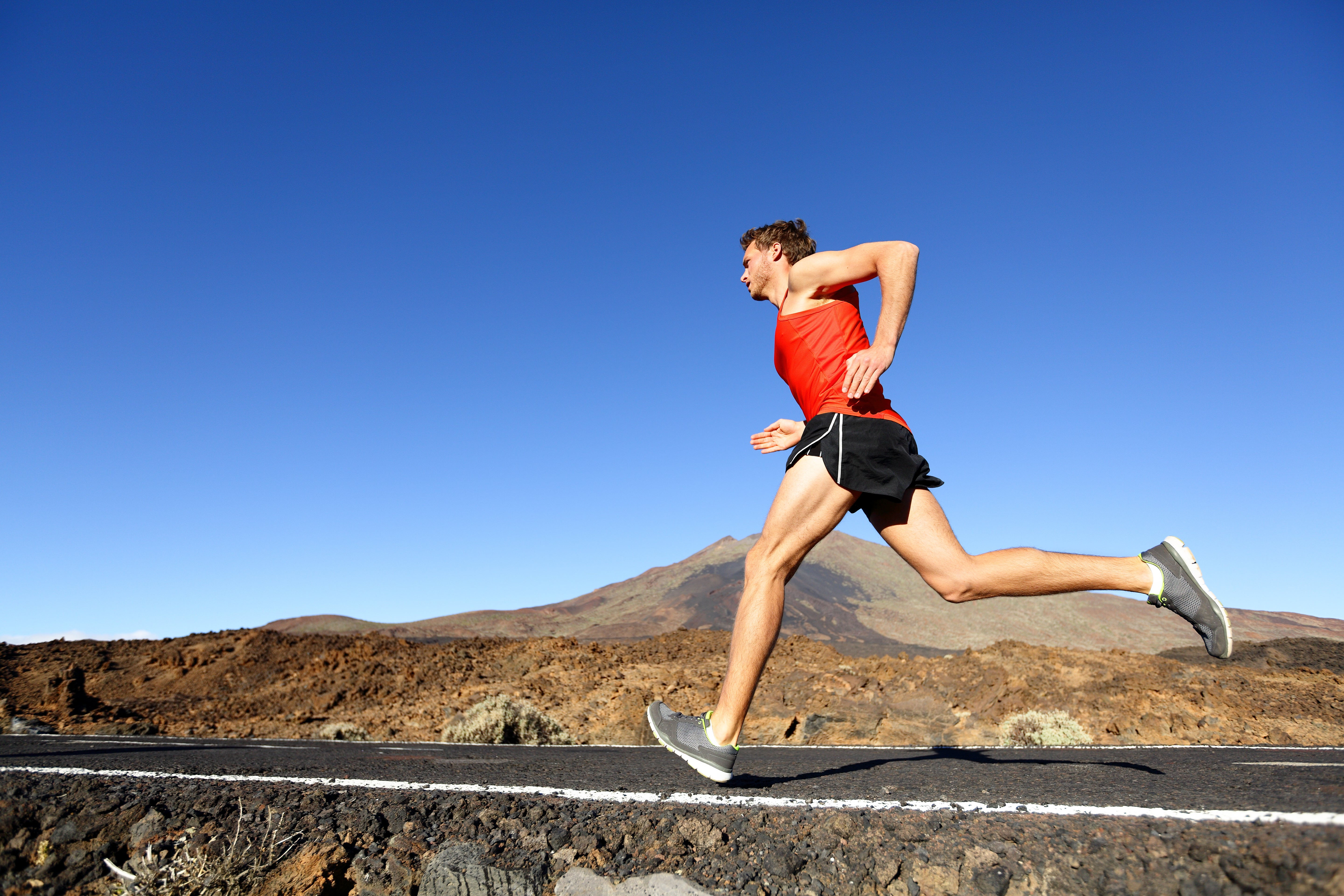 runner overstriding which can cause tight hamstrings and strain the muscle group