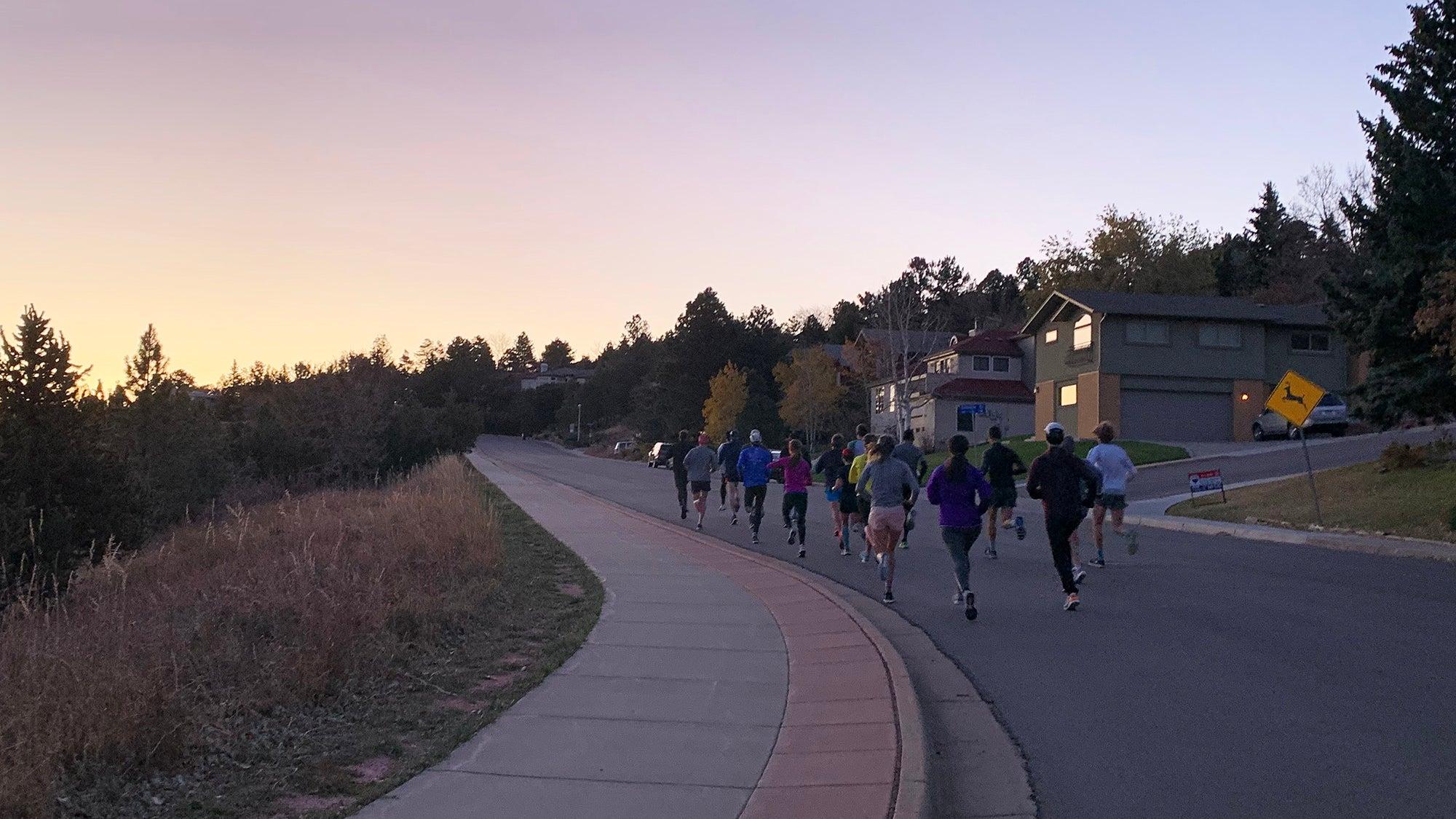 BTC morning hill workout