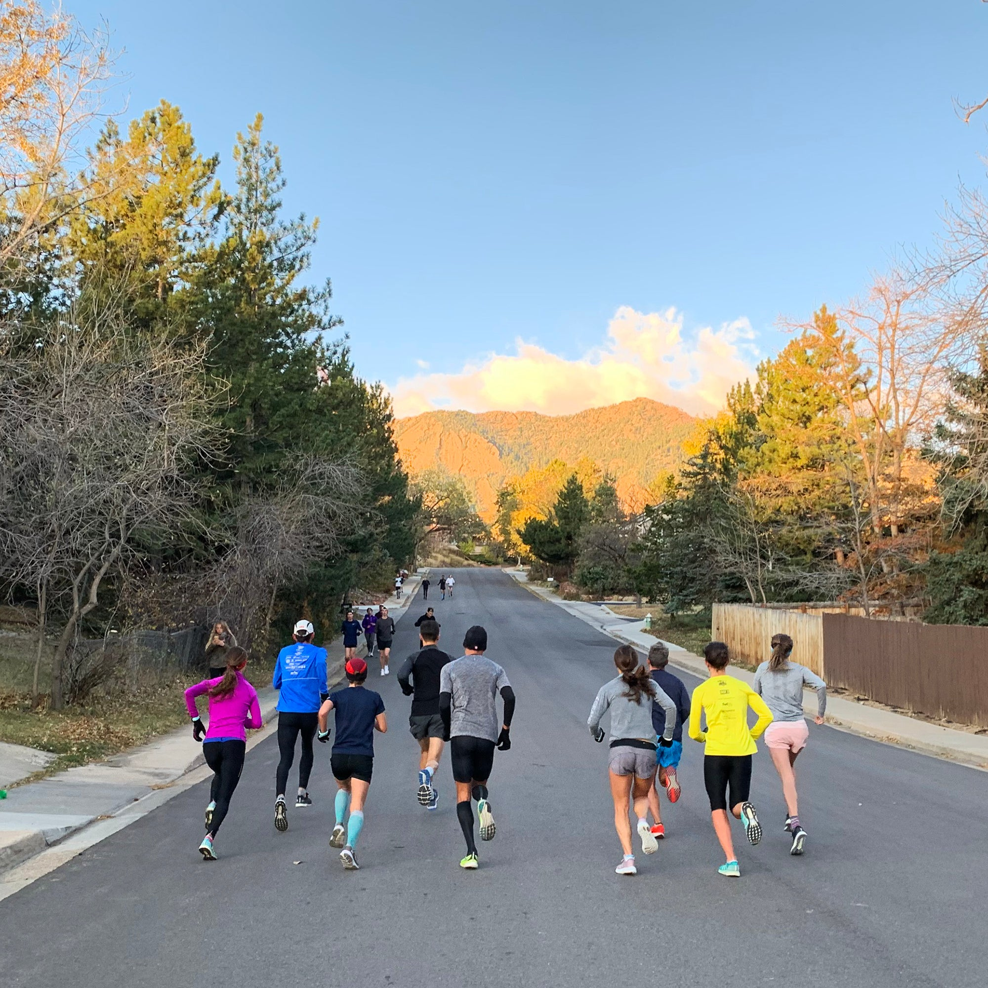 Boulder steep hill workout