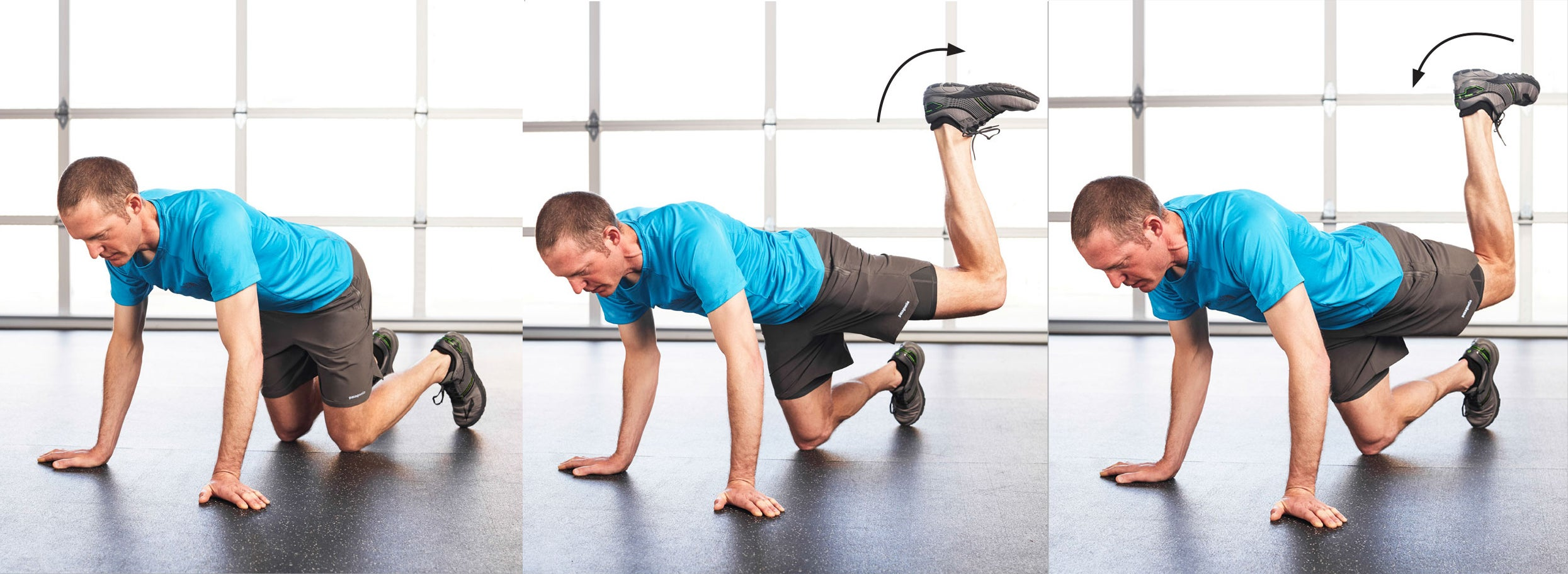 Glute-Rainbow Hip Exercise