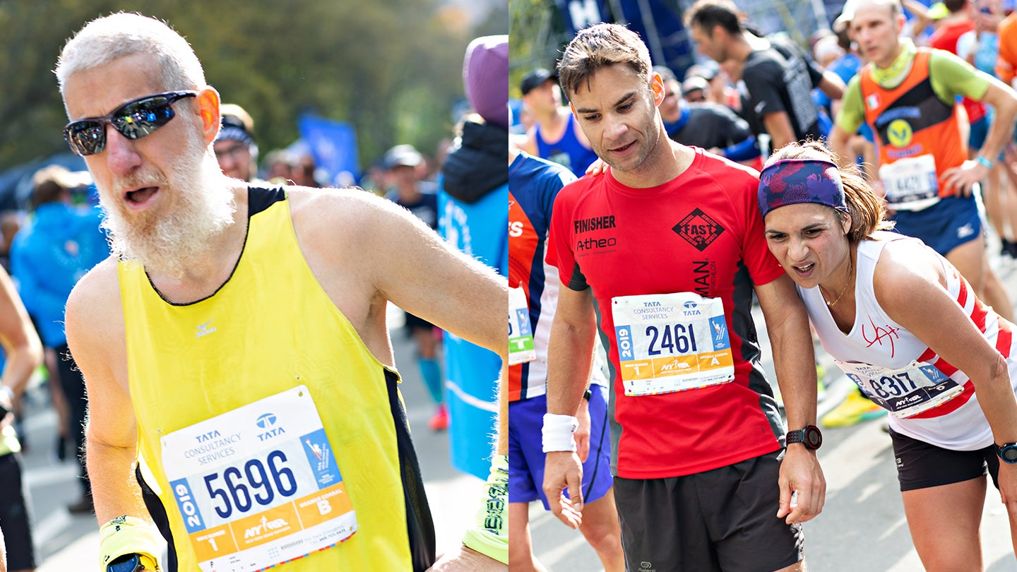 NYCM Finish emotions