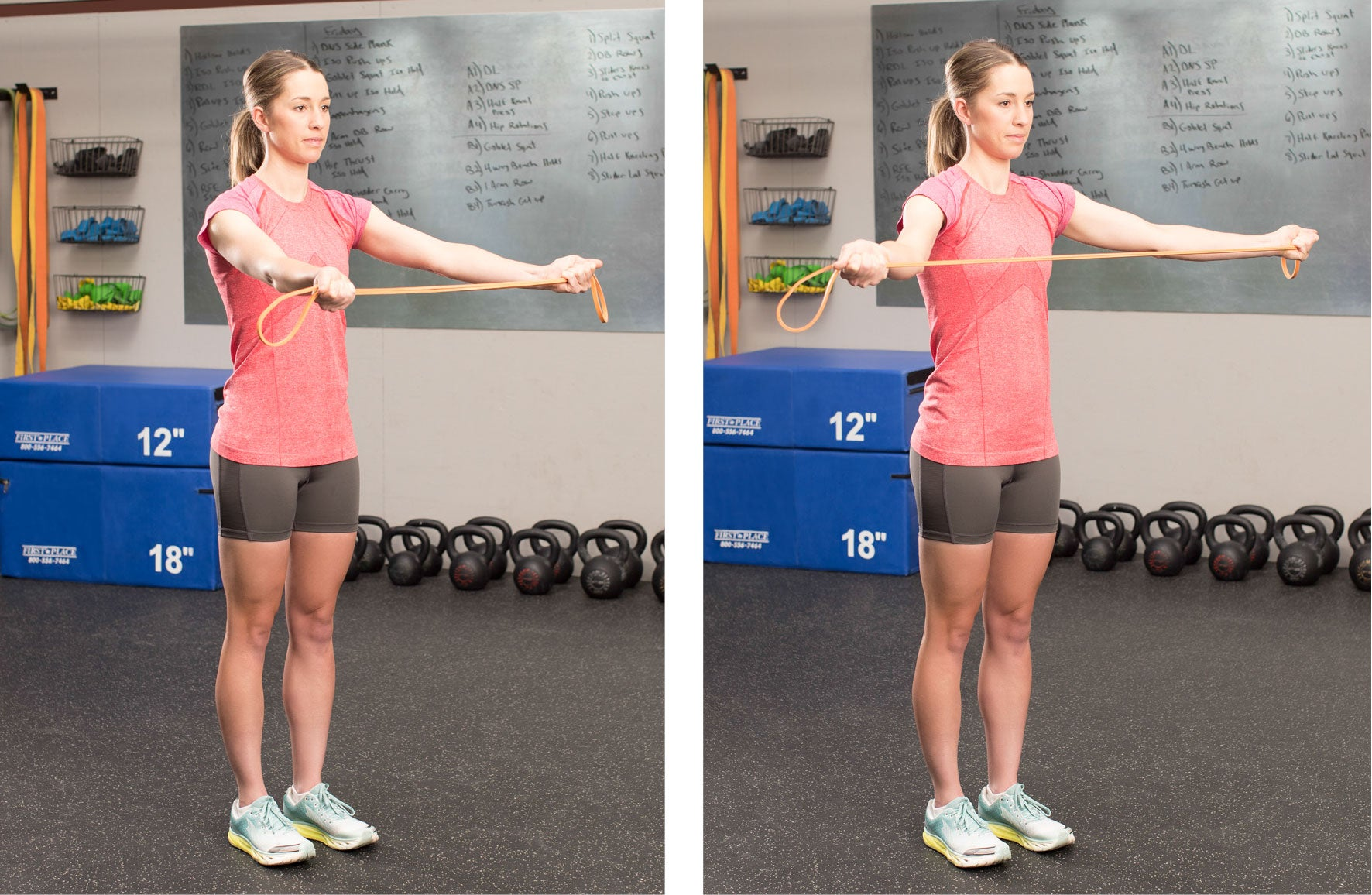 Pull Aparts exercise