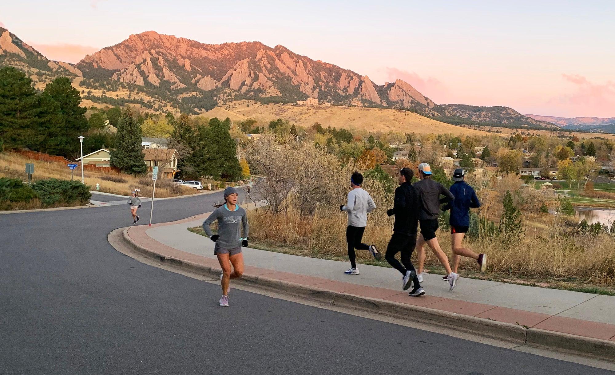 BTC Hill Workout Boulder