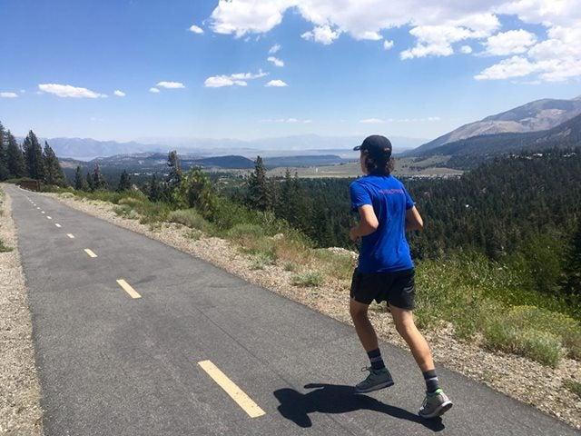 mammoth lakes run
