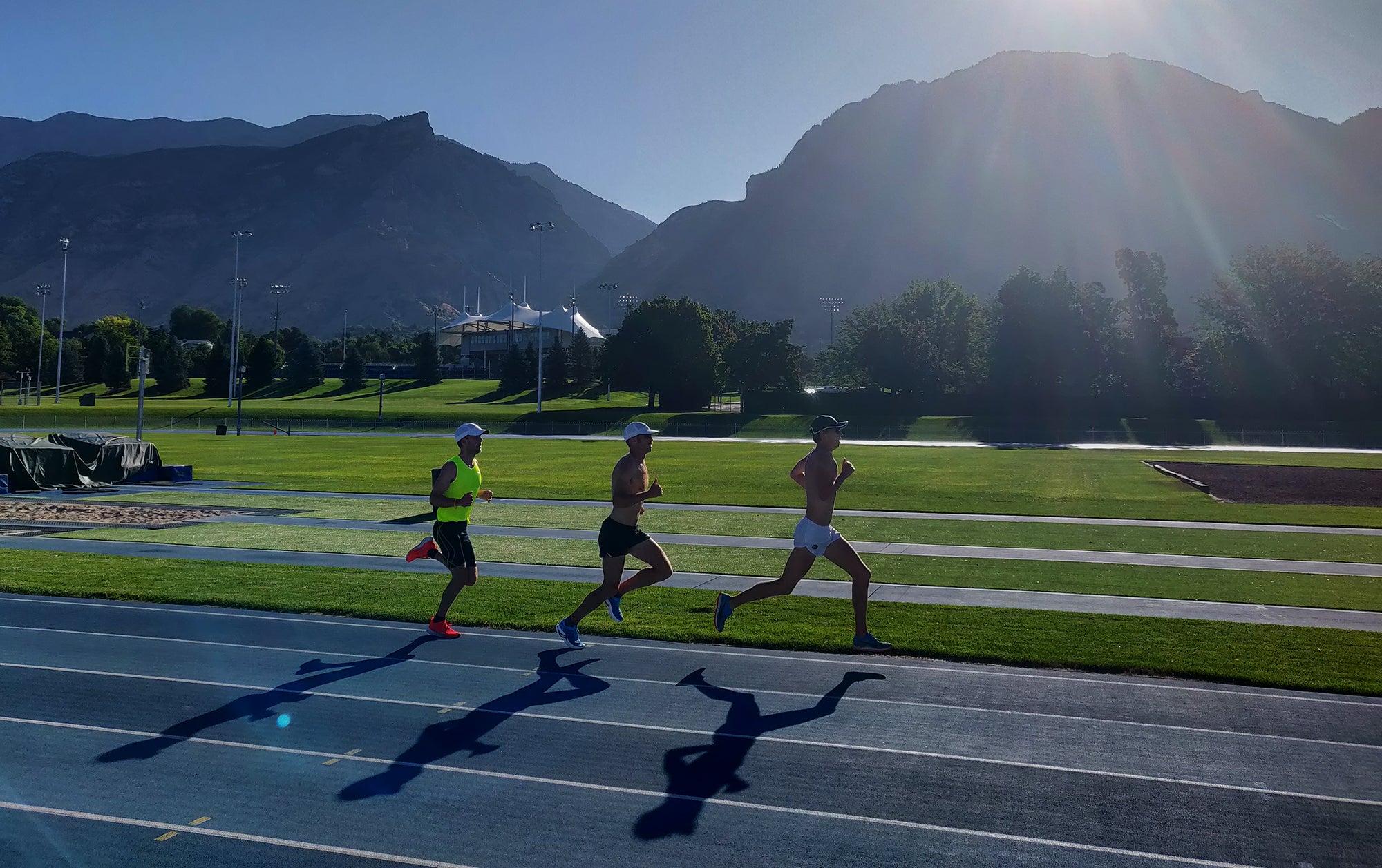 track workout Utah